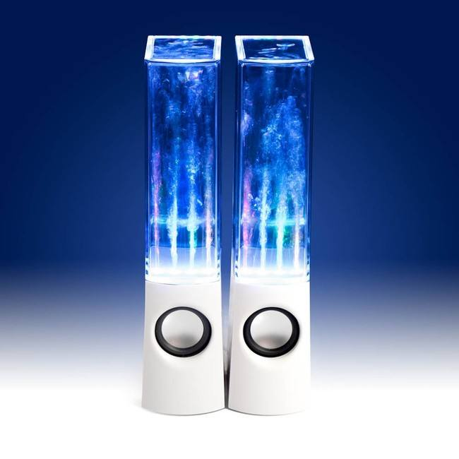 water dancing speakers i aktion