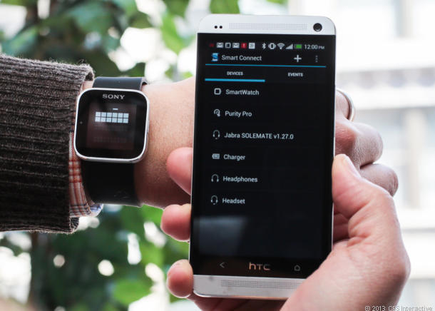 sony smartwatch kan tilkobles din mobil