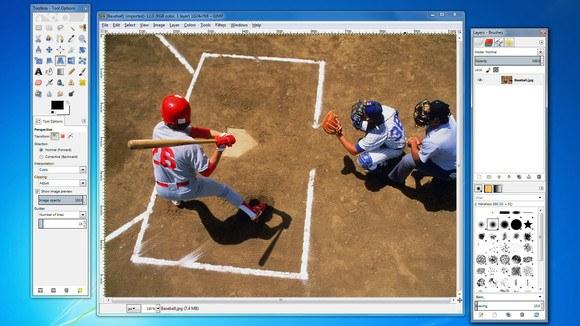 billede redigerings program gratis ved brugen af gimp