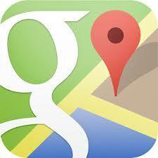 rejse appen Google Maps